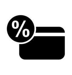 depsit credit card icon vector image