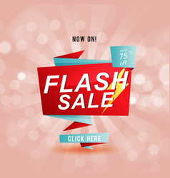Flash sale up to 75 off ribbon pink background ve vector