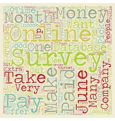 Paid Surveys WorkFromHome4Dollars June s Pick of vector