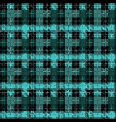 winter buffalo plaid seamless pattern - classic vector image
