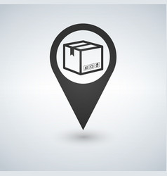 delivery services relocation cargo shipment or vector image vector image