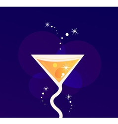fresh party summer drink vector image