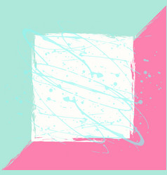 hand darwn background creative card vector image