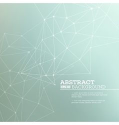 Abstract background with connection concept vector