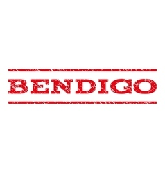 Bendigo Watermark Stamp vector image
