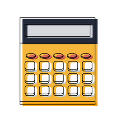 Calculator school education electronic digital vector