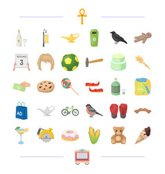 Circus sport travel and other web icon in vector