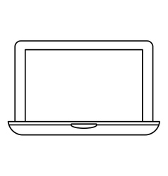 Figure connected computer icon image design vector