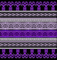 Greek borders elegant seamless pattern vector