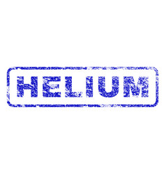 Helium rubber stamp vector