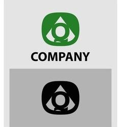 Letter Q emblem symbol Creative corporate concept vector