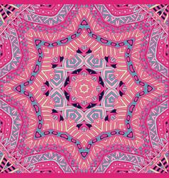 line geometric zen art doodle design mandala vector image