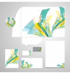 Lively Corporate Identity vector image