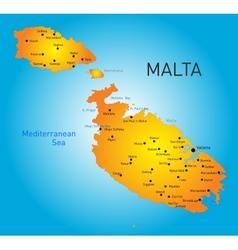 Malta country vector image vector image
