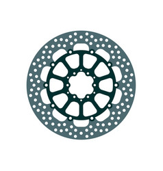 Motorcycle brake rotor vector