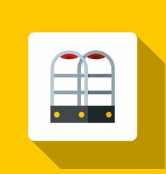 Shop security anti theft sensor gates icon vector