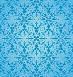 silk cyan vector image