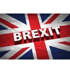 United Kingdom exit from europe relative image vector image