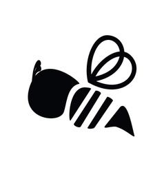 Bee icon vector image