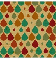 Retro grunge seamless pattern vector image vector image