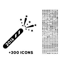 2016 firecracker icon vector