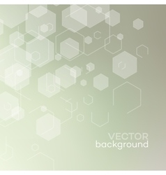 Abstract background with connection concept vector image