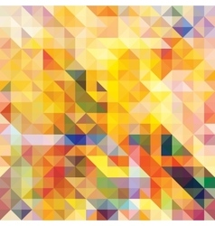 Abstract seamless pattern Mosaic vector