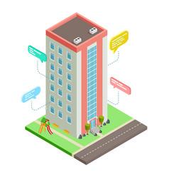 communication between neighbors neighborhood vector image
