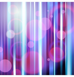 Dark violet abstract background with neon rays vector