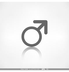 Male symbol man vector