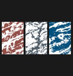 Marble overlay texture grunge design elements vector