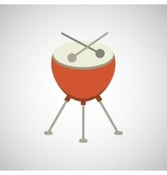 musical instrument design vector image