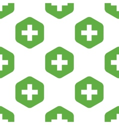 Plus sign pattern vector