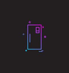 switch icon design vector image