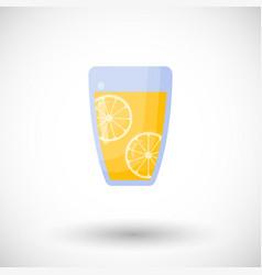 lemonade flat icon vector image