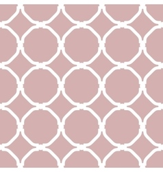 Geometric Seamless White Pattern vector