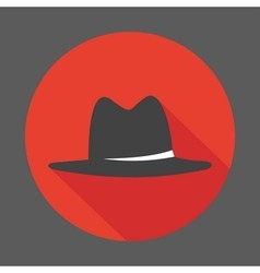 Mafia hat vector