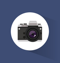 photo camera picture travel icon vector image