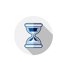 Time conceptual stylized icon Old-fashioned vector image