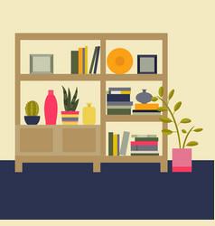 interior living room vector image vector image