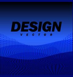 Abstract futuristic landscape background design vector