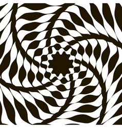 Abstract lines distortion effect Geometric Pattern vector image