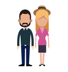 Couple people relationship together vector