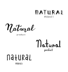 Eco Logo Farm Product Label vector