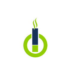 Electrical cigarette for healthy vector