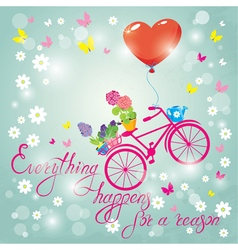 everything happens for a reason 4 380 vector image