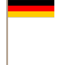 german flag border poster vector image