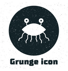 Grunge pastafarianism icon isolated on white vector