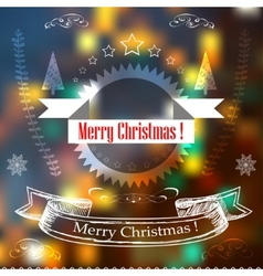 Hand Drawn Christmas Decoration Set Of decoration vector image