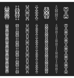 Monogram elements vector